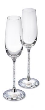 Swarovski Crystalline Toasting Flutes  Authentic Swarovski Toasting Flutes. Brand New in Original Box. *Free Shipping *Free Gift Wrapping Available.