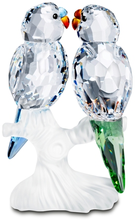 d32e82f7e Gifts & Collectibles Figurines Silver Crystal Feathered Beauties ...