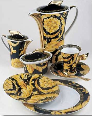 Versace Vanity & China Dinnerware Formal Dinnerware Versace vanitychina Vanity 5 pc ...